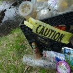 Pollution Collected from Riverbank