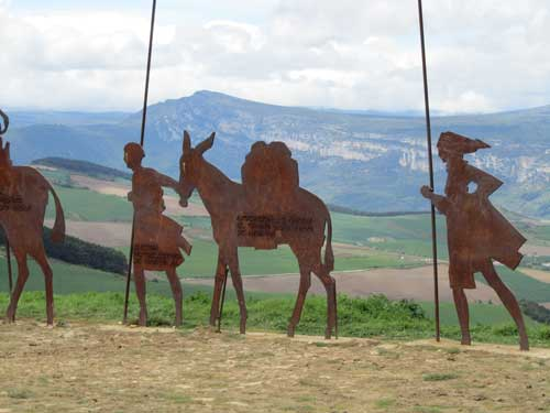 Camino Sculpture
