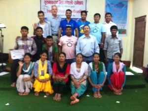 First AVP workshop with Nepal Quakers